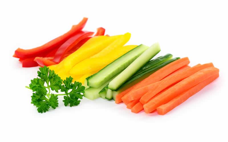 Vibrant Vitamin A Vegetables vegan dog food