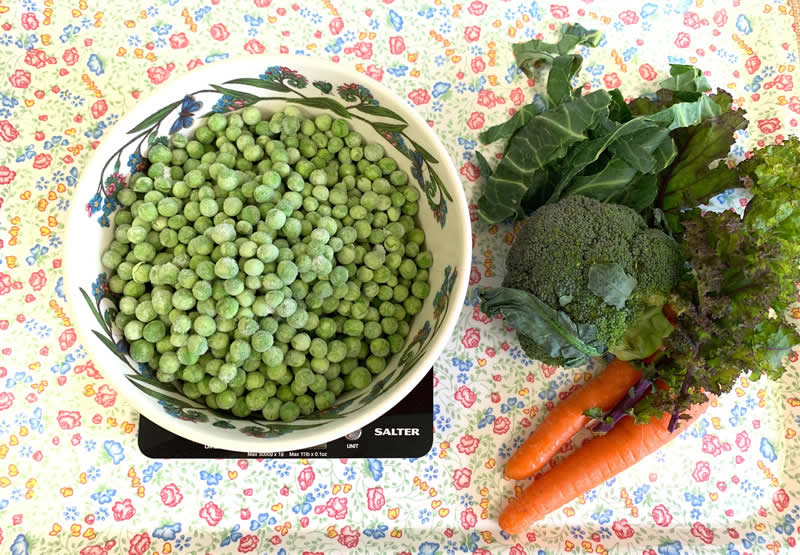 Our Hearty vegetable homemade recipe
