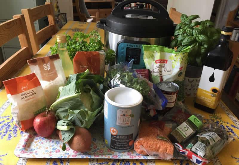 i-Veg Feed the Rainbow Ingredients