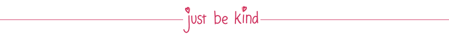 just be kind logo
