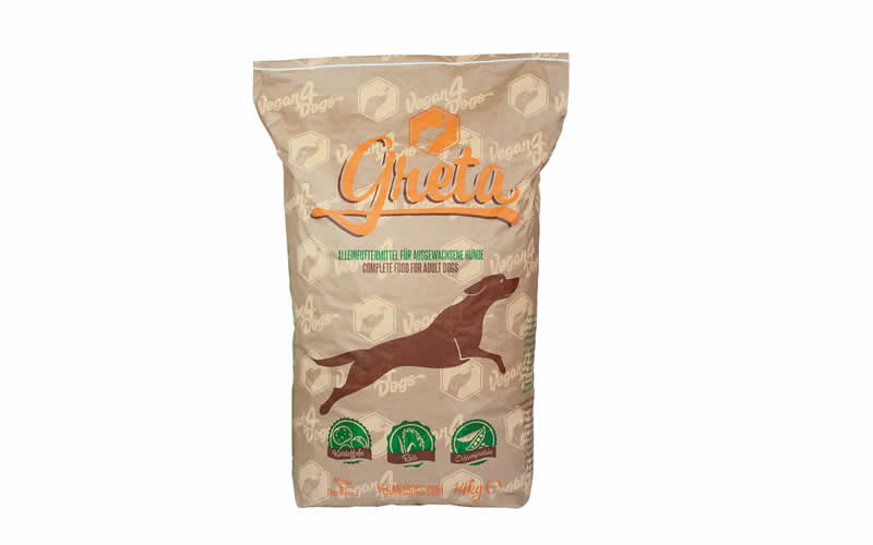 Greta vegan premium dog food