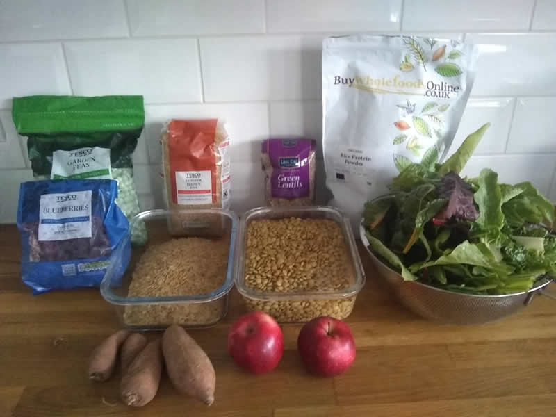 Ingredients needed for homemade puppy diet