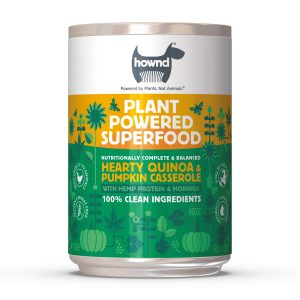 Hownd superfood heart quinoa and pumpkin casserole